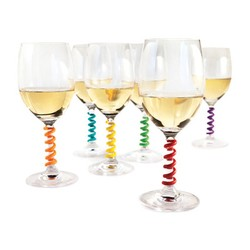 Wine Stem Spring Charms
