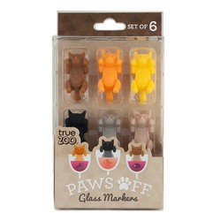 Paws Off Glass Marker
