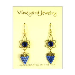 Earrings, Vineyard Jewelry
