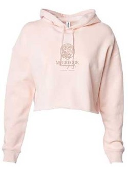 Women's Cropped Sweatshirt Blush