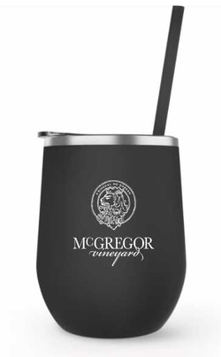 McGregor Insulated Wine Cup Black Matte