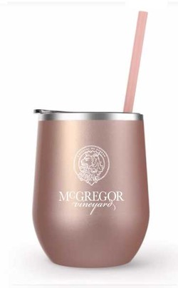 McGregor Insulated Wine Cup Rose Gold