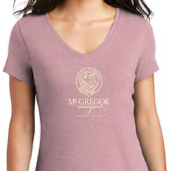 Women's V-neck Tee, Lavender
