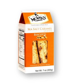 Monks Sea Salt and Caramel Biscotti