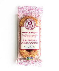 Unna Bakery Raspberry Cave Cookie Pouches