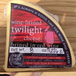 Wine-Brined Twilight Jack Cheese