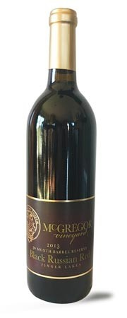 2013 Black Russian Red, 36 Month Reserve