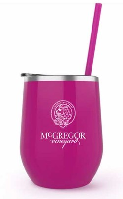 McGregor Insulated Wine Cup Fuschia