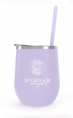 McGregor Insulated Wine Cup Lavender Matte