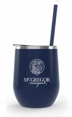 McGregor Insulated Wine Cup Midnight Matte