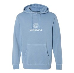Hooded Sweatshirt, Light Blue