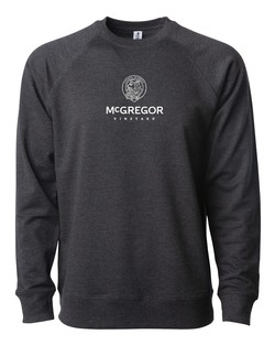 Terry Crewneck Sweatshirt- Charcoal Heather